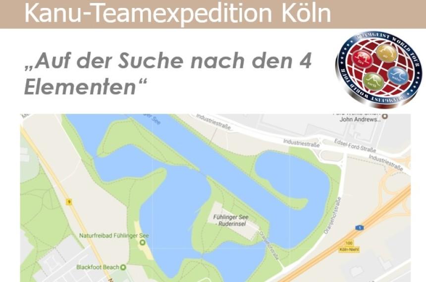 Kanu-Teamexpedition Routebook Köln
