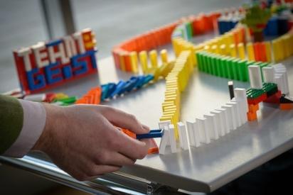 Domino Lego Rallye für Großgruppen in Gelsenkirchen