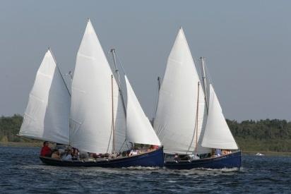 leute beim segeln-Blossin