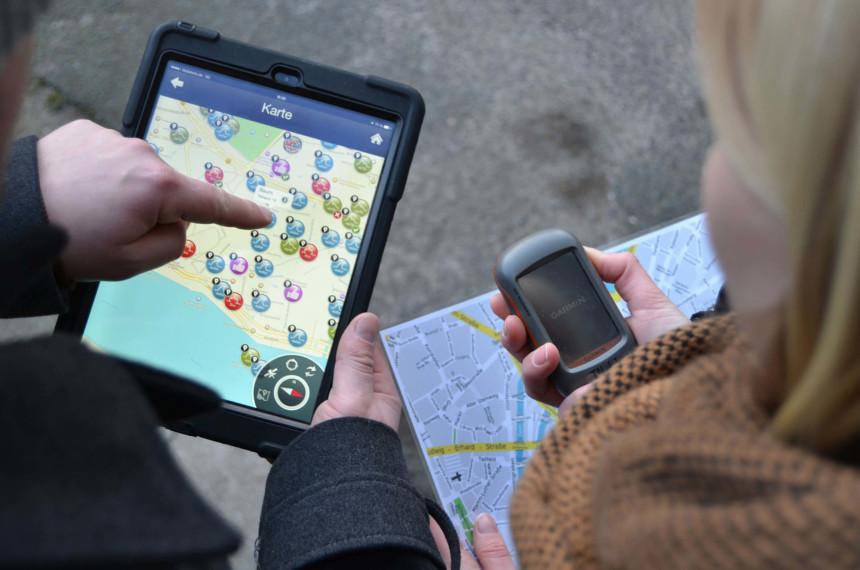 iPad GPS Karte