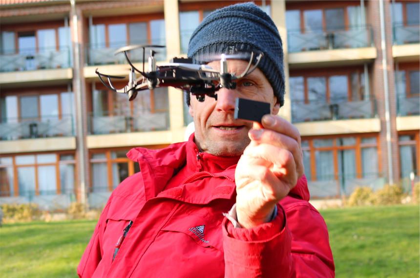 Drohne Parcours Team Event