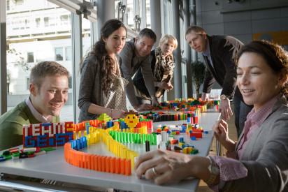 Domino Event für Großgruppen in Potsdam