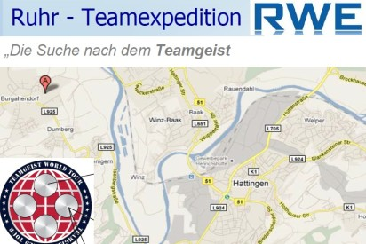 Kanu-Teamexpedition in Essen