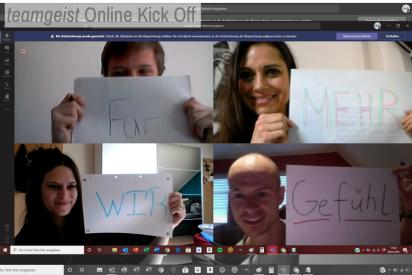 Remote Fun Team Challenge als Online Kick Off Event
