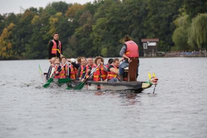 Drachenboot-Event in Neuss