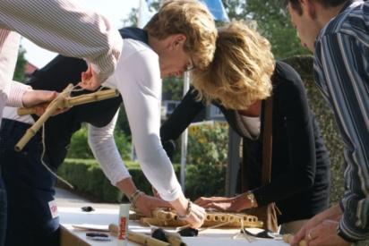 domino teamevent domino day-Koblenz