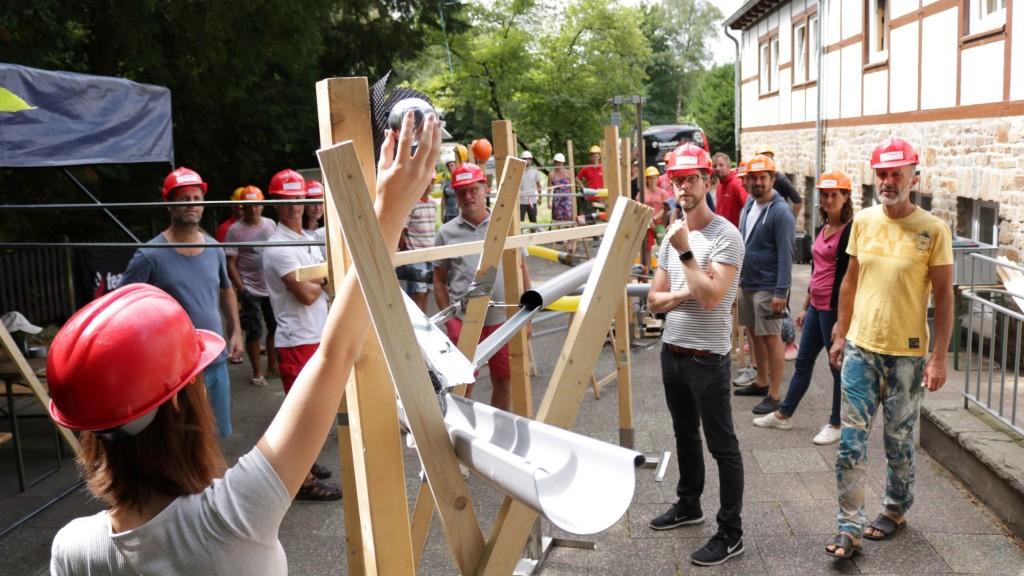 teamgeist Sommercamp 2019 Kugelbahn XXL