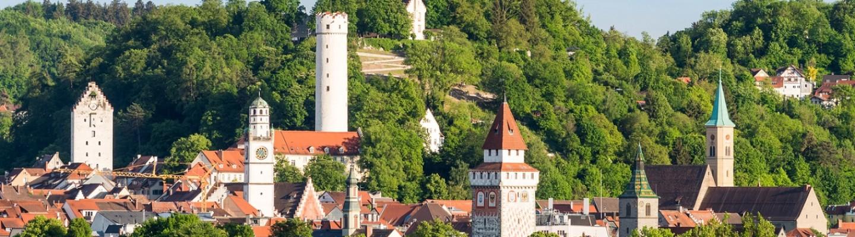 Ravensburg mit Mehlsack Turm