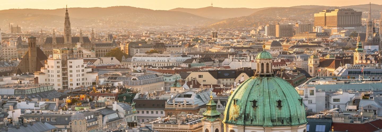 Wien Skyline mit Stephansdom