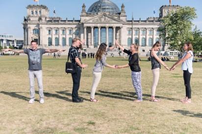 GPS Rallye Berlin Reichstag Team Challenge