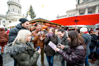 gluehwein team event-Halle