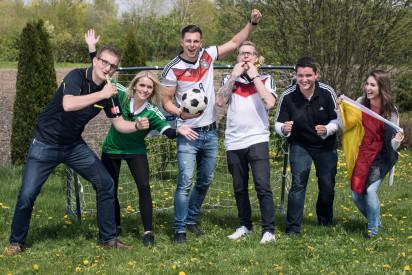 Fußball Teamchallenge in Gütersloh