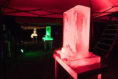 Eis Skulptur