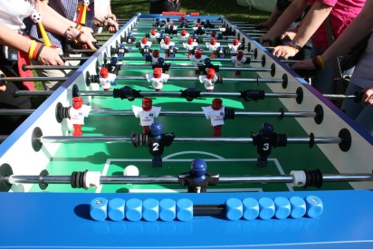 Das Team Kicker Turnier mit teamgeist-Potsdam