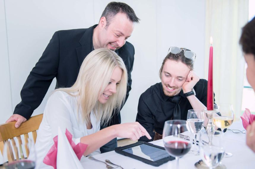 Dinner Rallye iPad Tablet GPS Challenge Teamevent