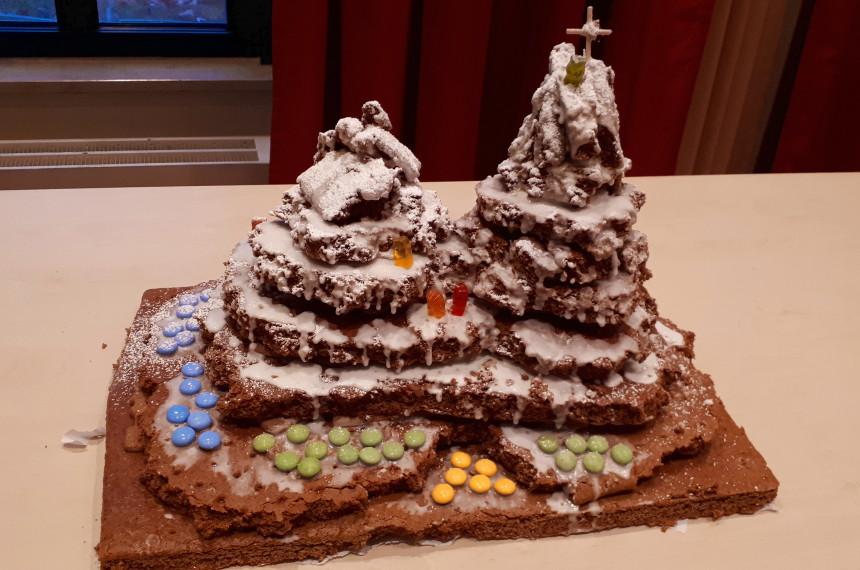 Lebkuchen Kunstwerke im Teamevent erstellt