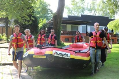 Team Rafting Schlauchboot