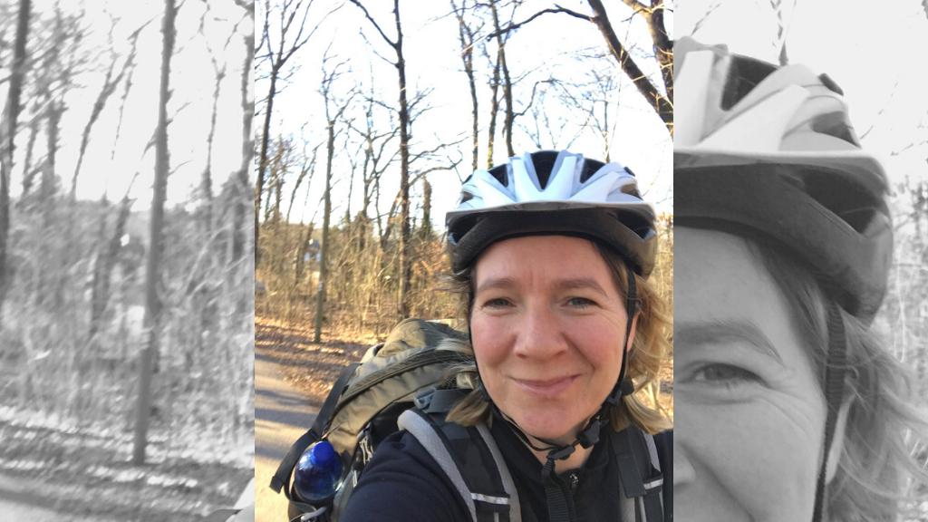 Isabel Haufe Fahrradtour