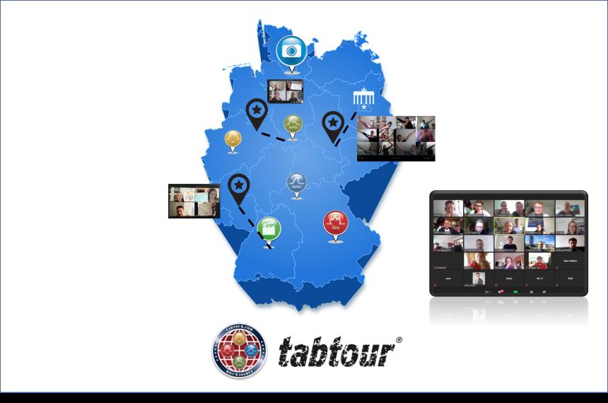 Remote tabtour - die virtuelle Schnitzeljagd 0